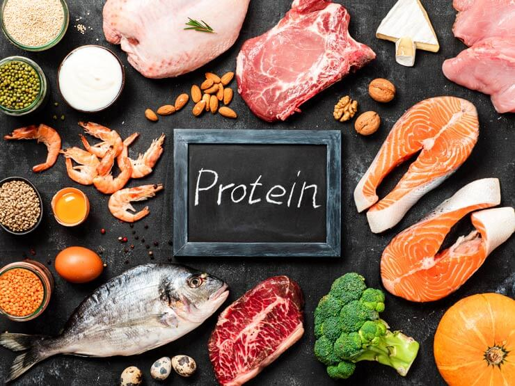 MORE PROTEIN INTAKE WILL HELP POCS TREATMENT